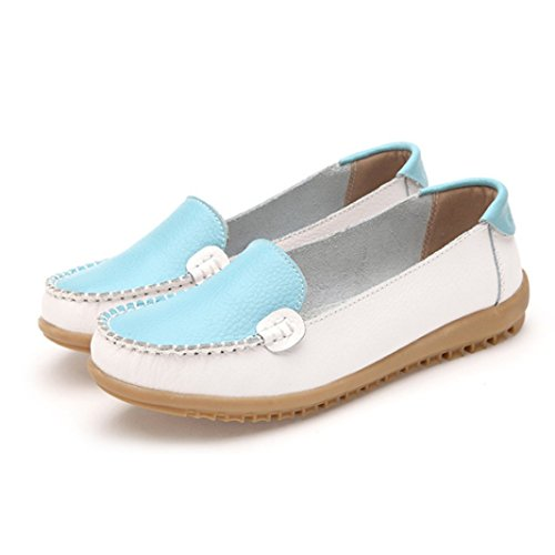 Clode® Flat Shoes Ladies On Women Comfort White Slip Shoes Flats Shoes Loafers rnaqrWO1w