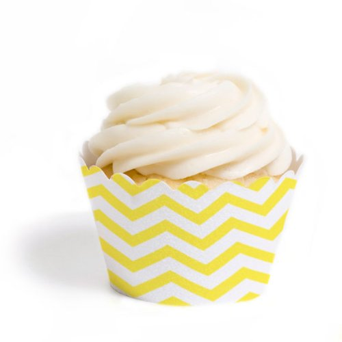 Dress My Cupcake Wrappers Chevron