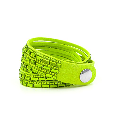 Vintage Button Bracelet Green - 3