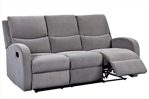 Editors' Choice: Container Furniture Direct Kelly Modern Upholstered Living Room Reclining Sofa