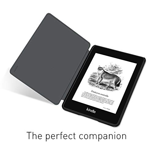 Ayotu Water-Safe Case for Kindle Paperwhite (10th Generation-2018) - PU Leather Smart Cover with Auto Wake/Sleep - Only Fit Kindle Paperwhite 10th Generation 2018 Released, K10 The Library