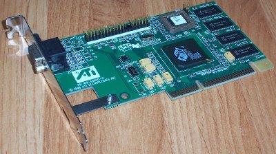ATI - Video card AGP ATI 3D P/N 109-49800-11 (b.1)