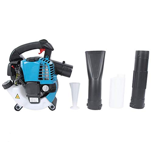 Leaf Blower, 0.67KW Portable 75.6cc 4 Stroke Snow Blower for greenhouses Snow Removal Clearing Dust Prefer for Commercial
