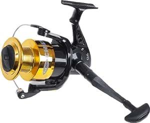 FLADEN Chieftain - Carrete de pesca, color negro