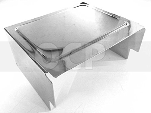 Chrome Battery Cover for Harley Dyna Wide Glide FXDWG 97-05 repl. OEM #66375-97