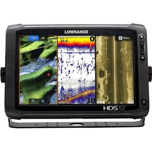 Lowrance HDS-12 Touch GEN2 Insight 83/200 kHz & SS XDCR Touchscreen Fishfinder