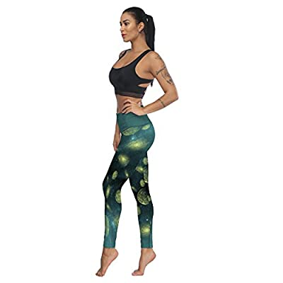 Fandim Fly Women Sports Gym Yoga Pants Workout Mid Waist Running Fitness Elastic Leggings