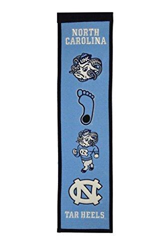 North Carolina Tar Heels NCAA Heritage Banner (8x32)