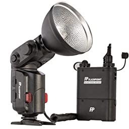 Flashpoint SL-180K1 StreakLight 180 Watt-Seconds Flash with Blast Power Pack (Black)