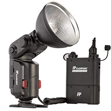 Black Flashpoint SL-180K1 StreakLight 180 Watt-Seconds Flash with Blast Power Pack