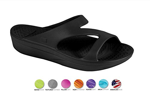 0909b6bba32ebd Telic Shoe Arch Support Recovery Z-Strap Sandal +Bonus Pumice  49 Value …