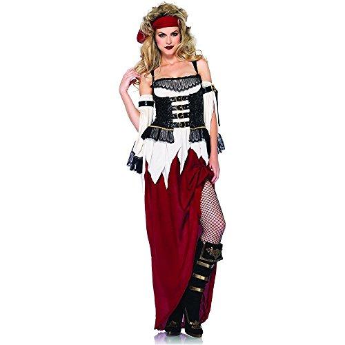 Buried Treasure Costume (Buried Treasure Beauty Adult Costume - Large)