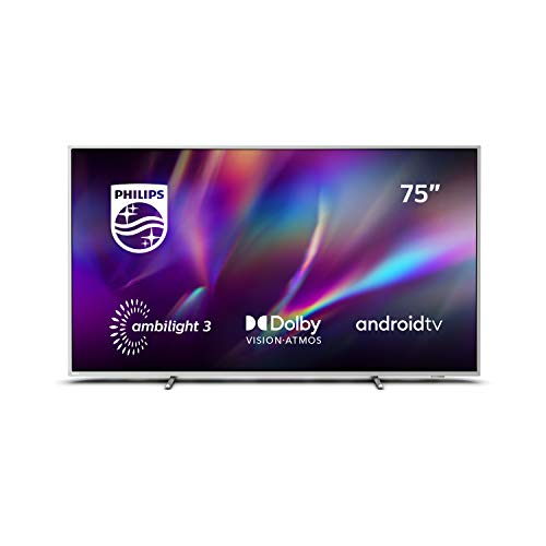 🥇 Philips Ambilight 75PUS8505/12 – Televisor Smart TV de 75″
