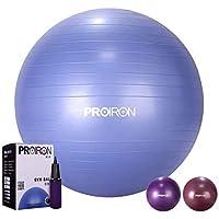 PROIRON Gymnastikball Pezziball Sitzball 55cm 65cm 75cm mit Pumpe Anti Burst Robuster für Erwachsene Büro Schwangerschaft Pezzibälle Gymnastikbälle
