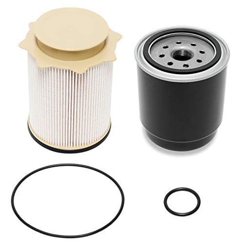 Wisamic 6.7L Cummins Diesel Filter Set for 2013-2018 Dodge Ram 2500 3500 4500 5500 6.7L Cummins Turbo Diesel Engines, Fuel Filter Water Separator Set Replace 68197867AA 68157291AA
