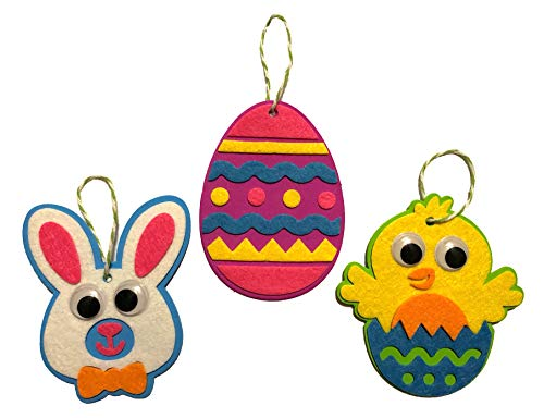 Nikki's Knick Knacks Hanging Easter Character Craft Kit- Makes 15