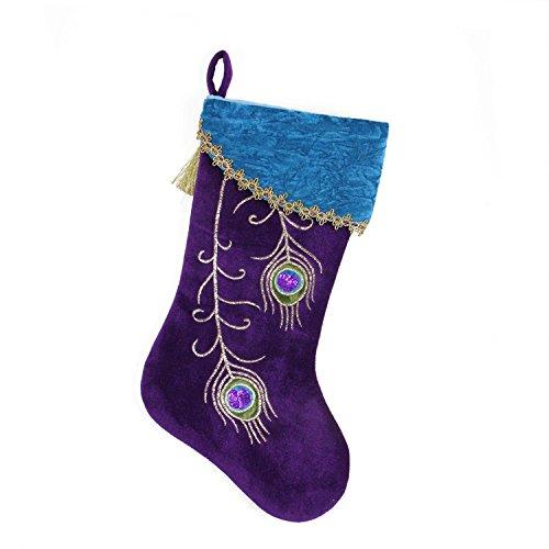 Purple Christmas Stocking (Northlight 18.5