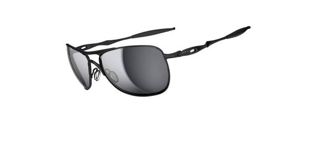 Oakley - Gafas de sol Aviador Crosshair para hombre, MATTE BLACK/BLACK IRIDIUM/Black