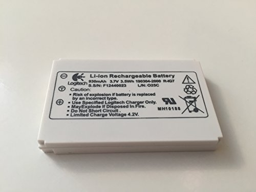 Price comparison product image Logitech Li-ion Battery Harmony One Remote 880 890 720 900 WHITE VERSION