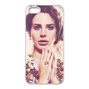 Customiz American Famous Singer Lana Del Rey Back Case for iphone 5 5S Designed by HnW Accessories