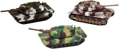 Deluxe Military DIE CAST Toy Tanks - 3 Piece ()