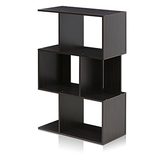 (Furinno FR16120EX Simply Modern 3-Tier Open Book Shelf )