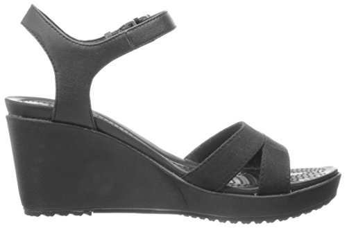Crocs Leigh Ii Ankelrem Kile Sort / Sort 8wM6y4O