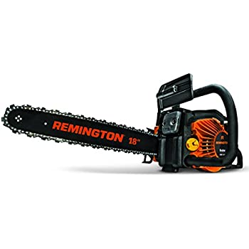 smallest chainsaw. remington rm5118r rodeo 51cc 2-cycle 18-inch gas chainsaw smallest m