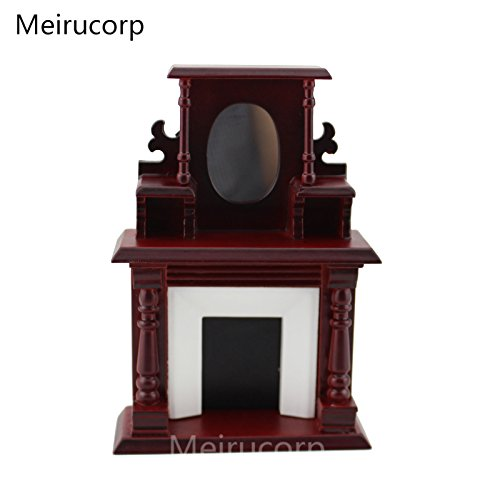 Dollhouse 1/12 Scale Miniature furniture Classic fireplace Dollhouse Fireplace