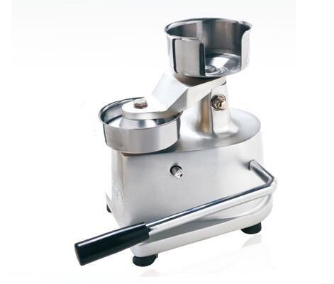 Cyana 100mm Stainless steel double bowl Manual hamburger machine, molding machines, pressure barbecue pie, steak machine press cake machine - Pressure Molding