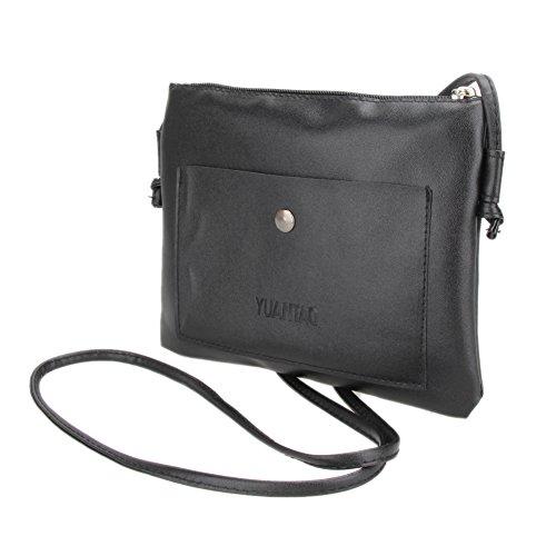 Widewing Leatherette Unisex Black Adult Bags TWgnW8z