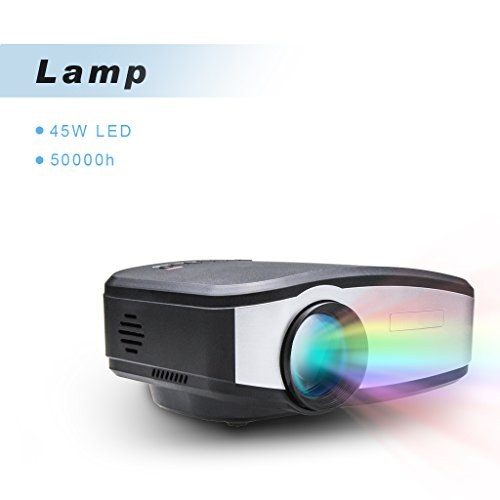 CHEERLUX OURYES C6 Mini LED Projector