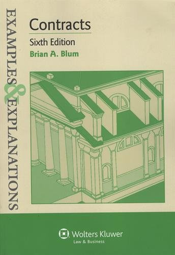 Examples & Explanations: Contracts, Sixth Edition cover
