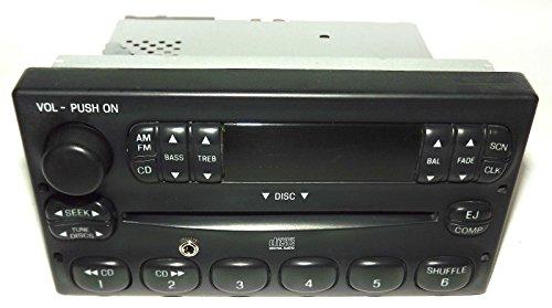 Ford F150 Pickup Truck Radio - AM FM CD Player w Auxiliary Input 3L3T-18C815-CA