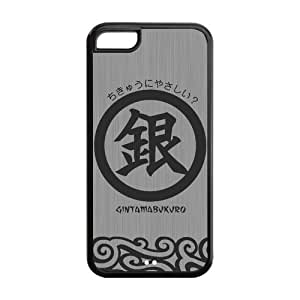 GINTAMA Solid Rubber Customized Cover Case for iPhone 5c 5c-linda748