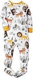 Carter\'s Little Boys\' Graphic Footie (Toddler/Kid) - Safari - 5T