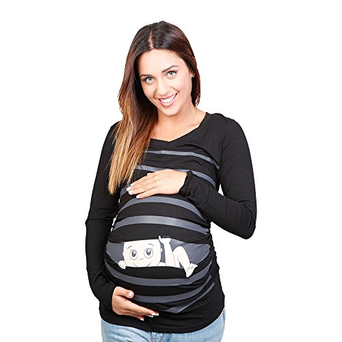 0090d17c905a7 Funny Pregnancy Shirt - Maternity Clothes Tops - Cute Pregnancy Shirts -  Buy Online in UAE. | Apparel Products in the UAE - See Prices, Reviews and  Free ...