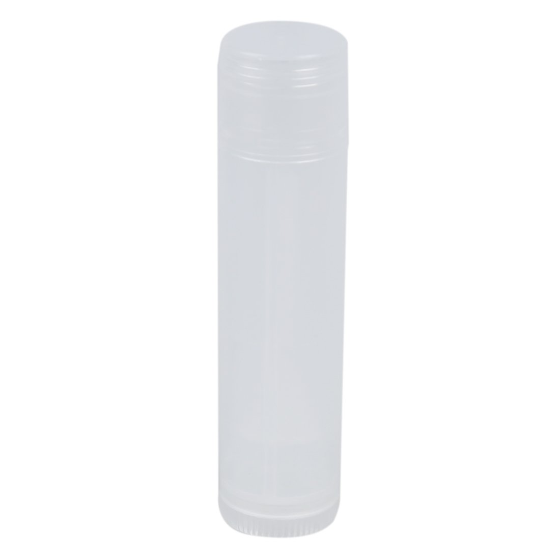 SODIAL(R) 25 Lip Balm Tubes with Caps (Natural/Clear) NEW 013201A2