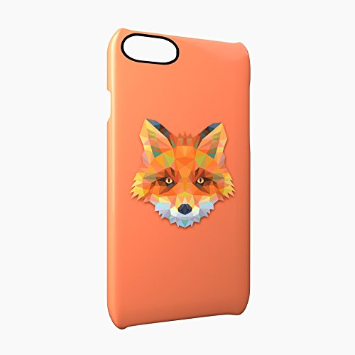 Fox Animal Art Of Triangles Glossy Hard Snap-On Protective iPhone 7 Plus + Case Cover