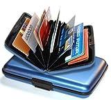 Ogon Designs Blue Aluminum Metal Credit Card Case Wallet