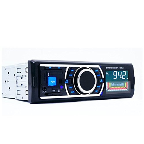 Perman Bluetooth Car Stereo Audio In-Dash FM Aux Input Receiver SD USB MP3 Radio Play