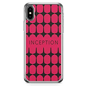 Loud Universe Pattern Tops iPhone XS Case Inception iPhone XS Cover with Transparent Edges