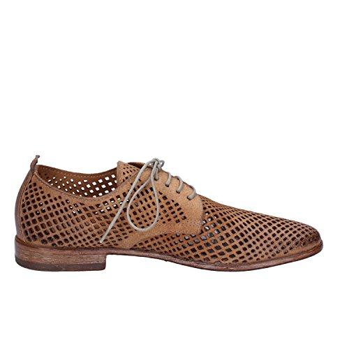 de cordones marrón MOMA Zapatos ante de mujer para marrón 5qO0wE0