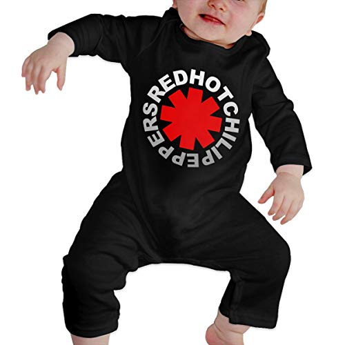 Red Hot Chili Peppers Baby Onesie (Unisex Baby Romper Cotton Jumpsuits, Chili Peppers Red)