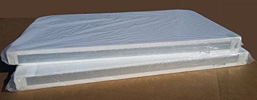 BeyondNice Hot Tub Cover - Spa Cover Replacement Custom Foam - 2 Pieces, 4-2 Taper by BeyondNice