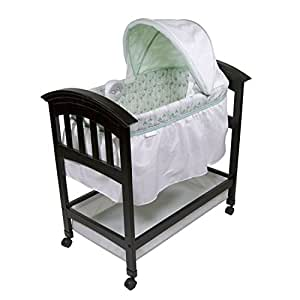 Summer Infant 26253 Classic Comfort Wood Bassinet, On Point