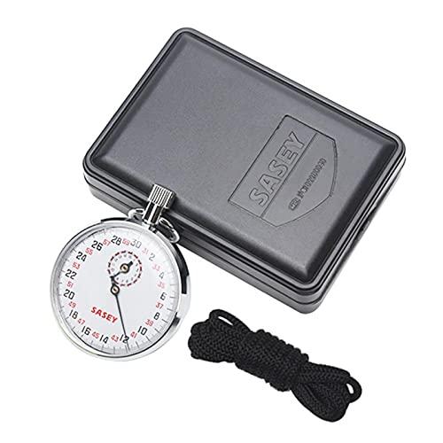 MOVKZACV Mechanische stophorloge, SXJ504 Handheld Sport Stopwatch Timer met Touw, Digitale Stopwatch Running Timer…