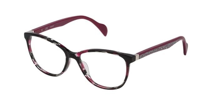 55b3cc87ac Tous VTOA16 SH.BLACK/FUXIA HAVANA (0720) - Monturas de gafas: Amazon.es:  Ropa y accesorios