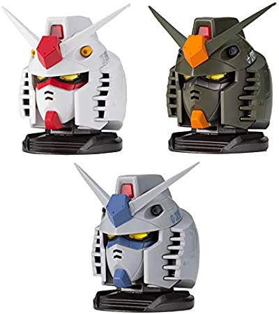 Bandai EXCEED MODEL GUNDAM HEAD Vol 2 Gashapon Full Set of 4