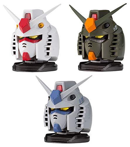 Gashapon Mobile Suit Gundam Exceed Model Gundam Head 1 Set